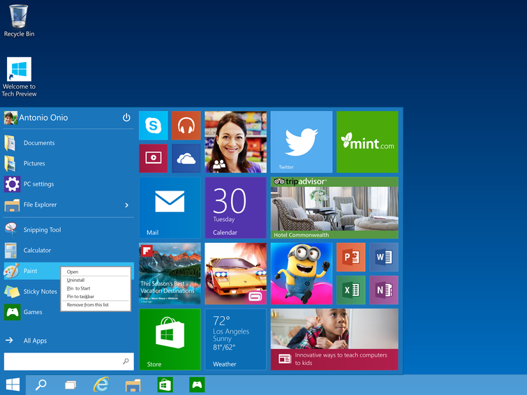 Windows 10 features the most secure 'two-factor authentication' built-in.