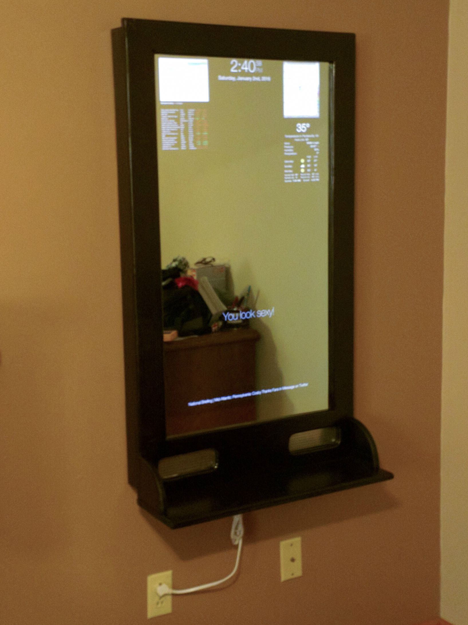 Magic Mirror from Microsoft