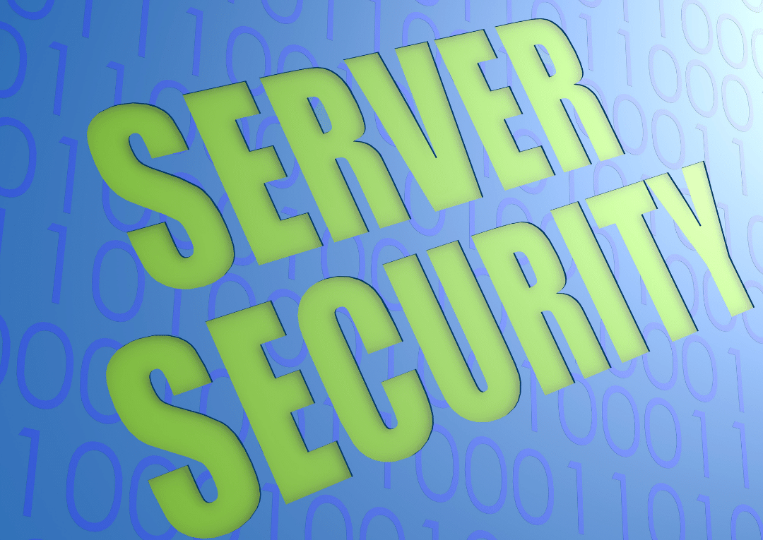 What is server security